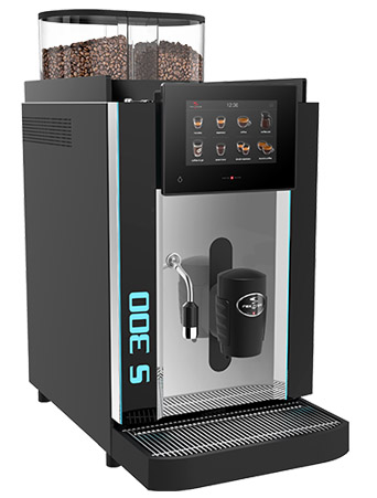 Koffiemachine volautomaat Rex Royal S300 Volautomaat professioneel koffieapparaat Rex Royal S300